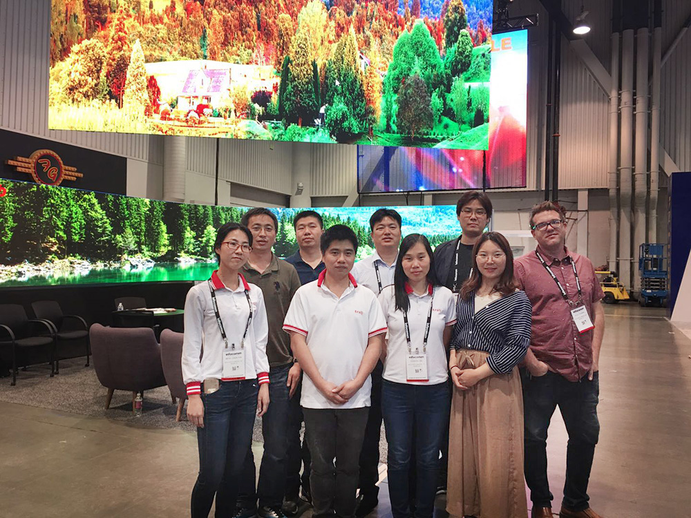 Successful 2018 INFOCOMM Fair Set the world on fire