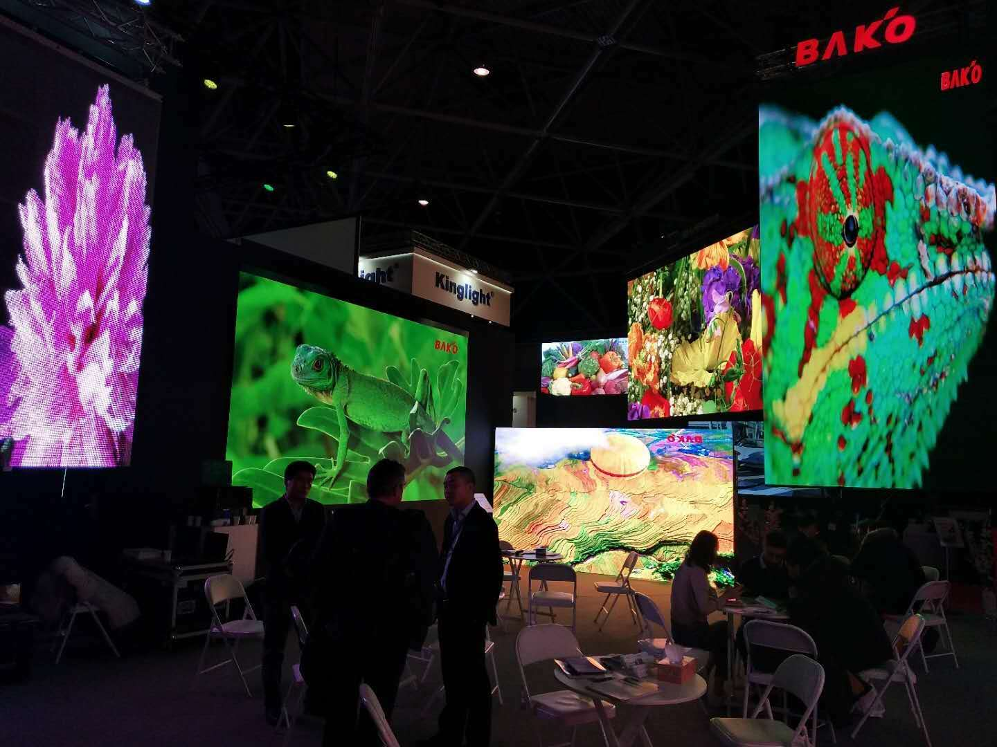 Scene style | Baco exhibits with a strong lineup ISE 2019